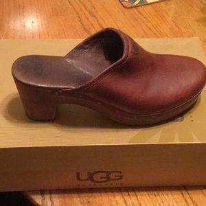 UGG Shoes - Ugg Leather Clogs